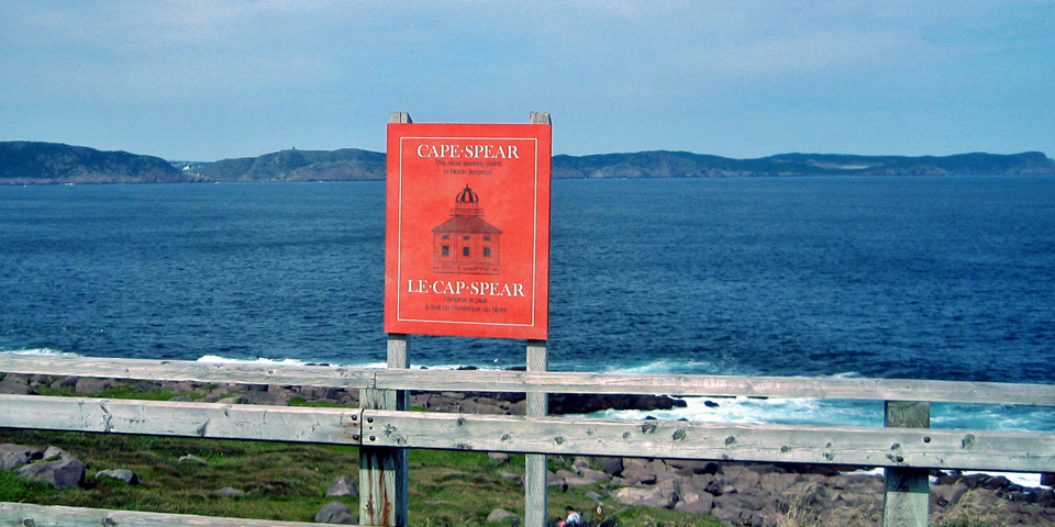 Cape Spear, the easternmost point in North America