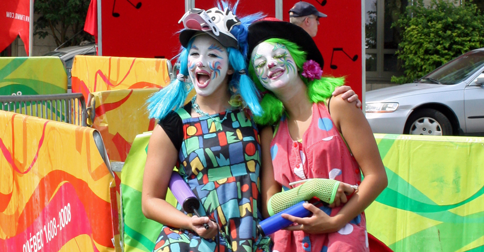 family fun at Quebec City's 400th Anniversary Celebration
