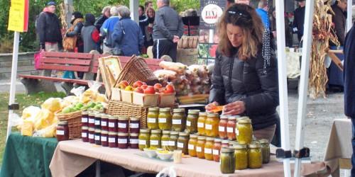Wolfville Farmer's Market, Nova Scotia