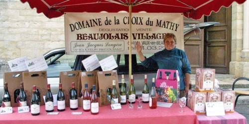 Domaine La Croix du Mathy, Vaux-en-Beaujolais