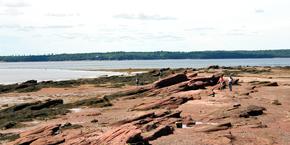 low tide, St. Andrews by-the-Sea, New Brunswick