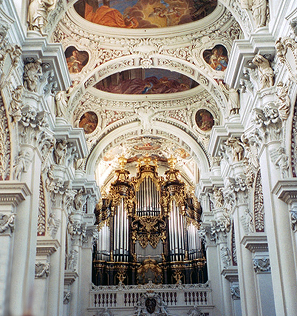 cathedral and organ, Passau, Germany