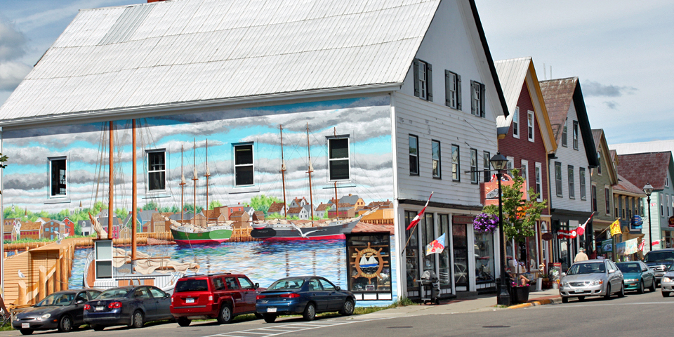 Water Street, St. Andrews by-the-Sea, New Brunswick