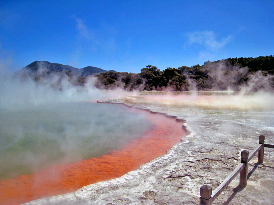 Champagne Pool, Waiotapu Thermal Wonderland, New Zealand