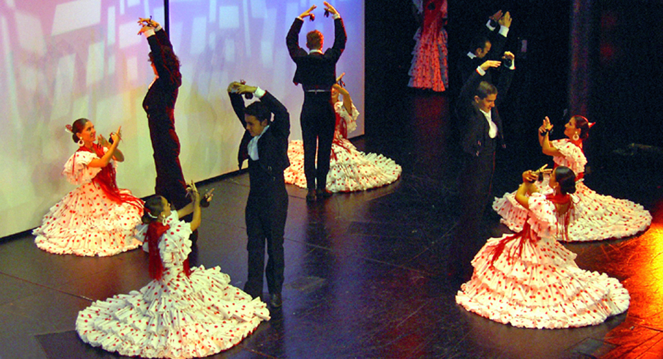 Flamenco Show aboard the Oosterdam