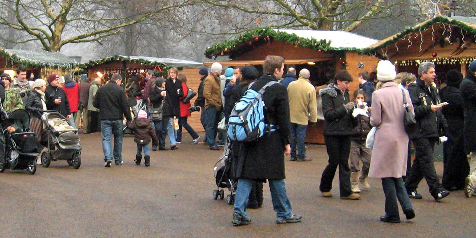 German Market, Hyde Park, London, England