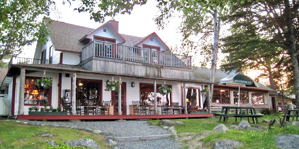 main lodge, Moosehead Lake, Maine