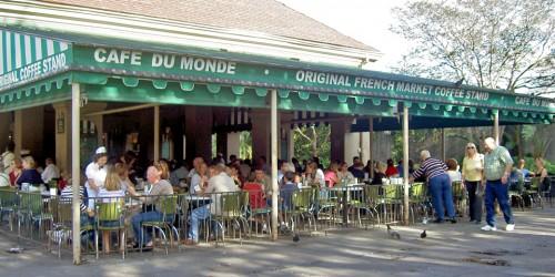 new orleans louisiana cafe du monde notable travels notable travels. Black Bedroom Furniture Sets. Home Design Ideas