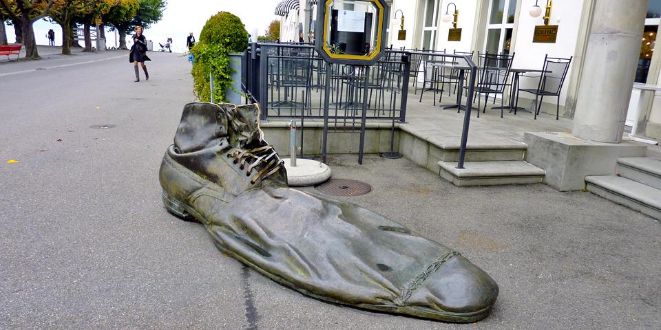 clown shoe, Rapperswil, Switzerland