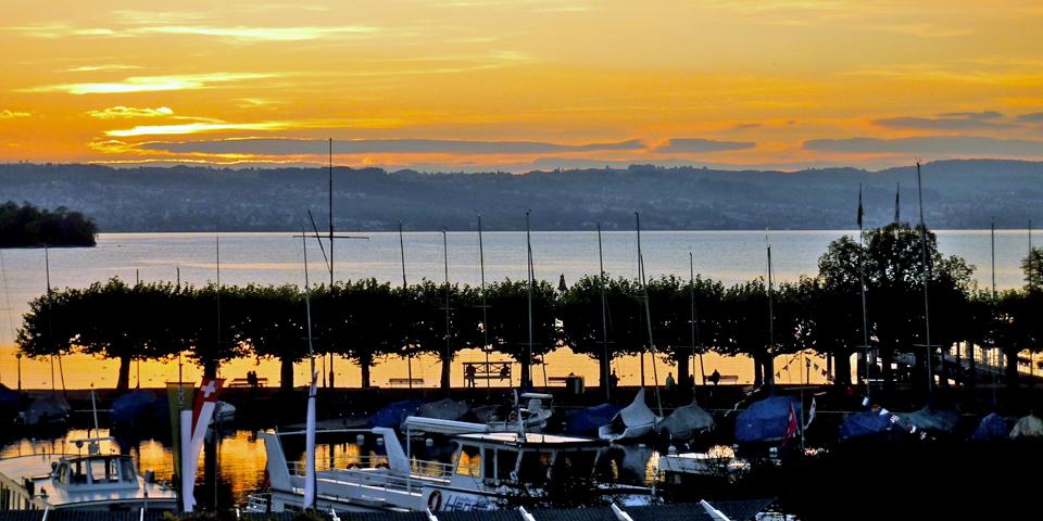 harbor area, Rapperswil, Switzerland
