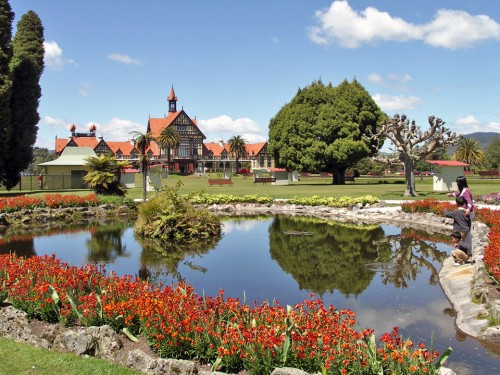 Rotorua Museum and Government Gardens, Rotorua, New Zealand