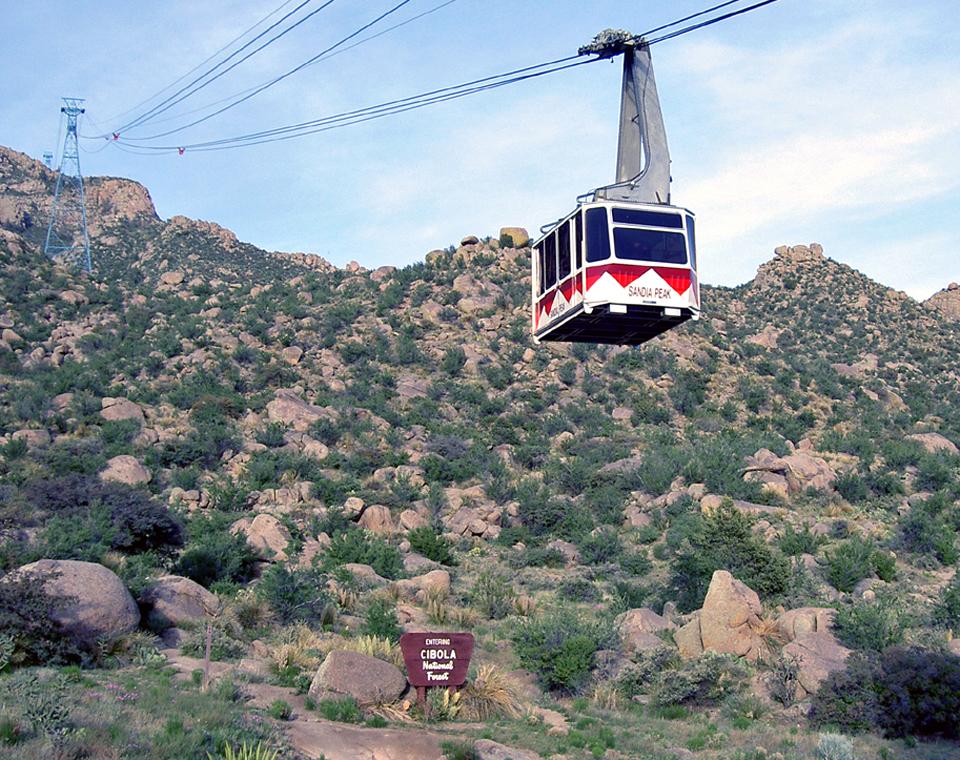 Sandia Peak tram, Albuquerque, New Mexico