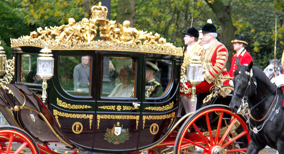 The Queen's Coach, London,
