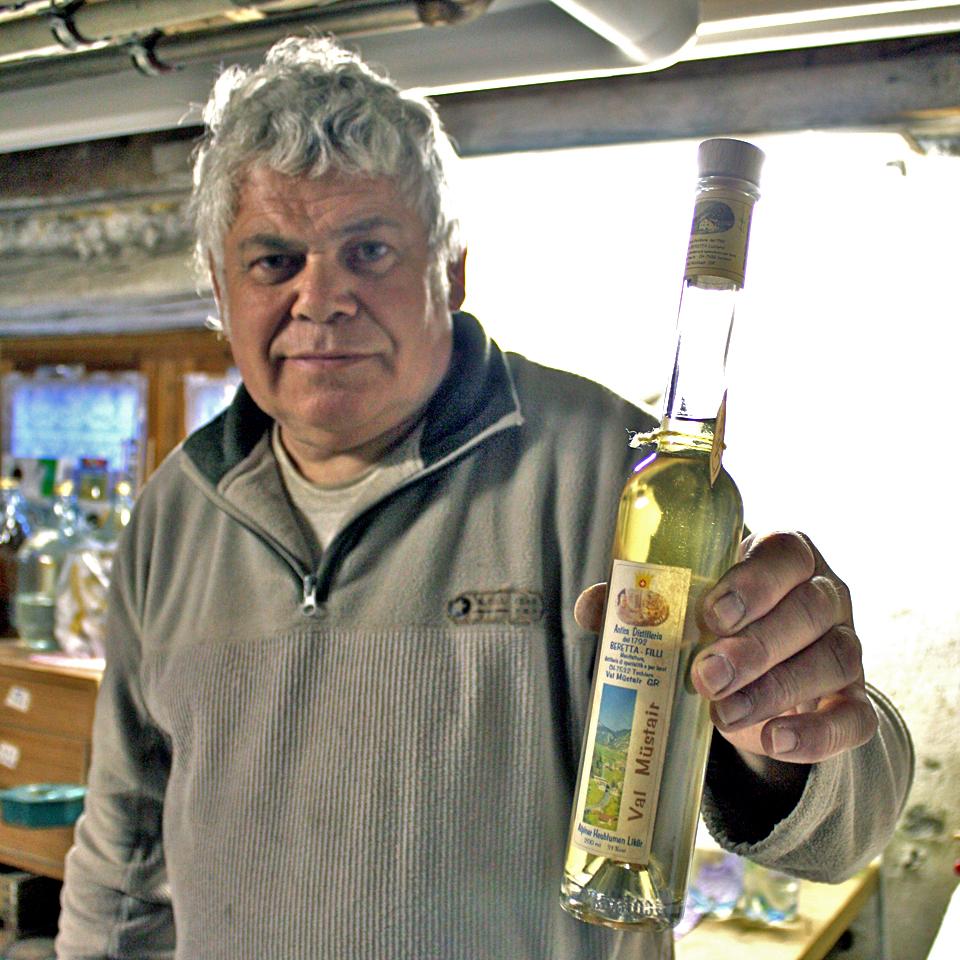 Luciano Beretta, Antica Distilleria, Tschierv, Switzerland