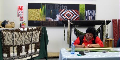 weaving, New Zealand