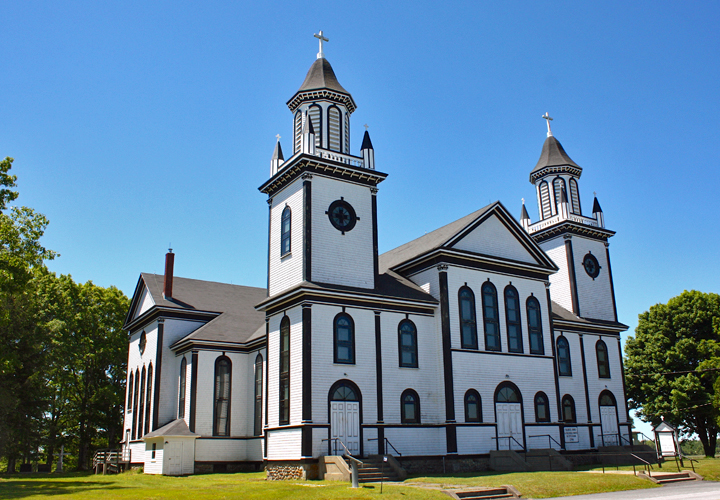 Eglise Ste-Anne Catholic Church,, Nova Scotia