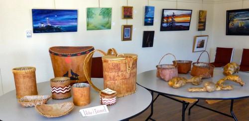 Mi'kmaq art,, Musee der Acadiens des Pubnicos, Nova Scotia