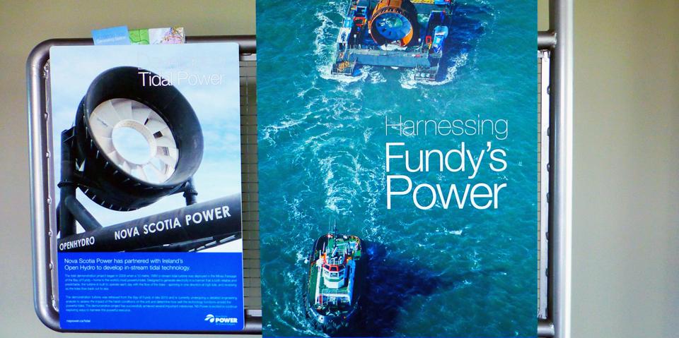 Annapolis Tidal Power Plant, Annapolis Royal, Nova Scotia