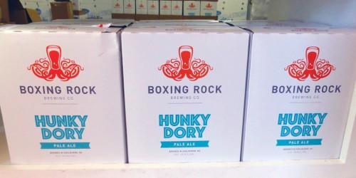Hunky Dory beer, Boxing Rock microbrewery, Shelburne, Nova Scotia