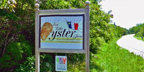 Eel Lake Oyster Farm, Ste. Anne du Ruisseau, Nova Scotia