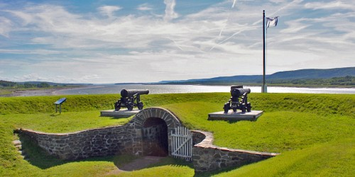 Fort Anne National Historic Site, Annapolis Valley, Nova Scotia