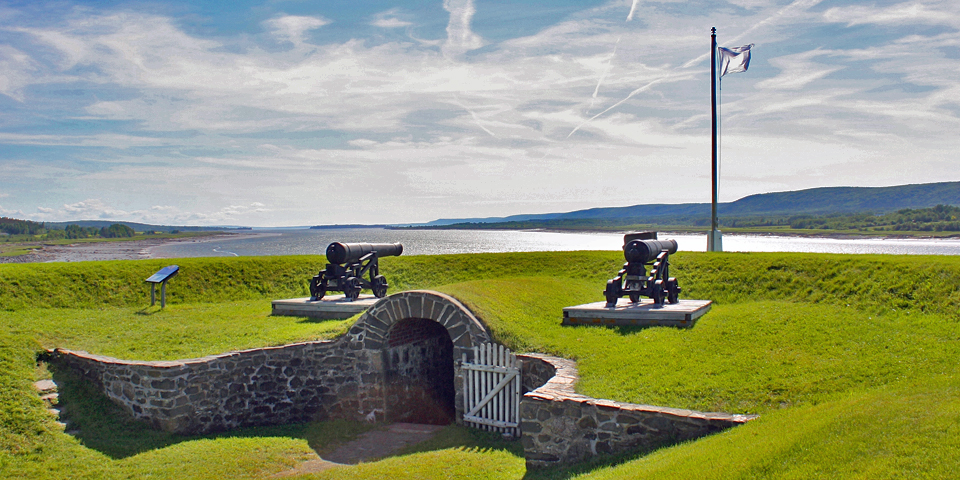 Fort Anne National Historic Site, Annapolis Valley, Nova Scotia