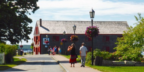 Historic Dock Street, Shelburne, Nova Scotia