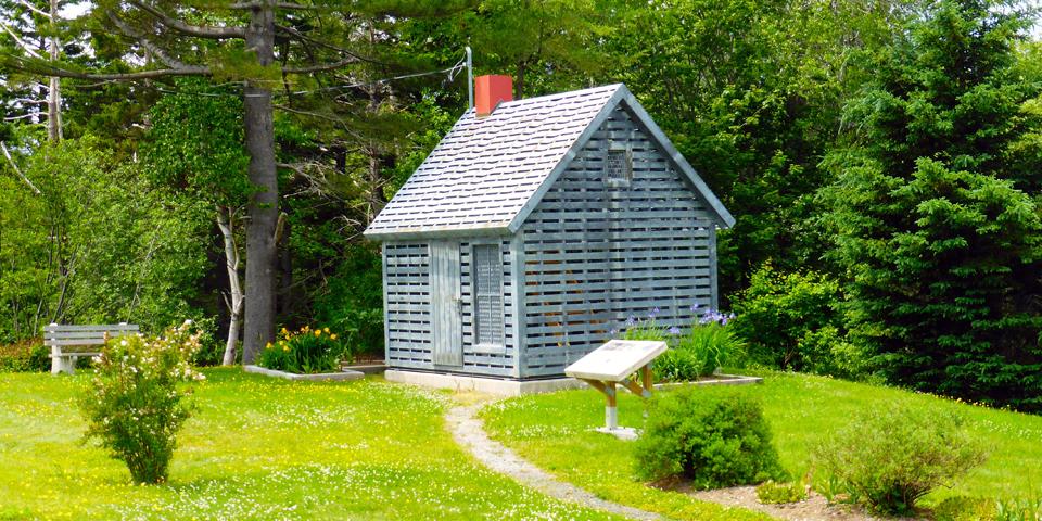 The Maud Lewis Memorial Site at Marshalltown, Nova Scotia