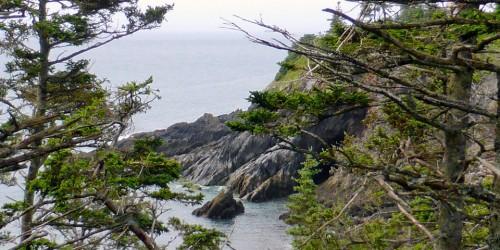 Smuggler's Cove Provincial Park, Meteghan, Nova Scotia