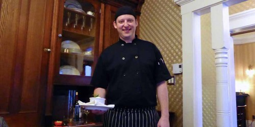 Chef Michael Hawry, MacKinnon-Cann Inn, Yarmouth, Nova Scotia