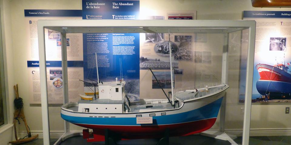 Rendex-vous de la Baie Visitor Centre, Nova Scotia