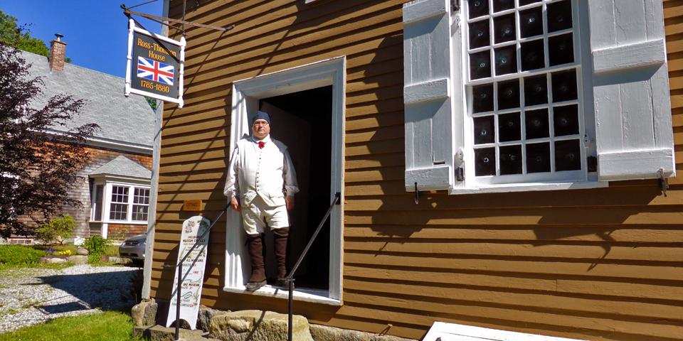 Ross-Thomson House, Shelburne County Museum, Nova Scotia