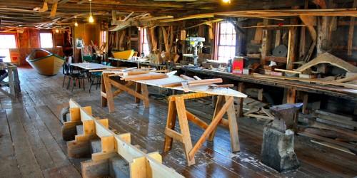 The Shelburne Museum's Dory Shop, Shelburne, Nova Scotia
