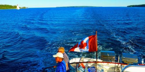Shelburne harbor cruise aboard the Brown Eyed Girl, Shelburne Harbour, Nova Scotia