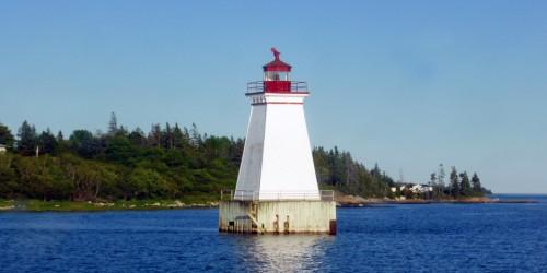 Sandy Point Lighthouse, Shelburne, Nova Scotia
