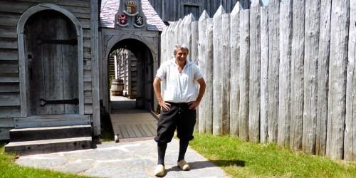 Wayne Melanson, Port Royal National Historic Site, Port Royal, Nova Scotia