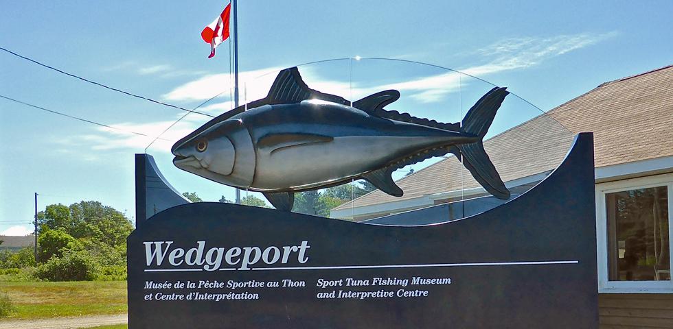 Wedgeport Sport Tuna Fishing Museum, Westport, Nova Scotia
