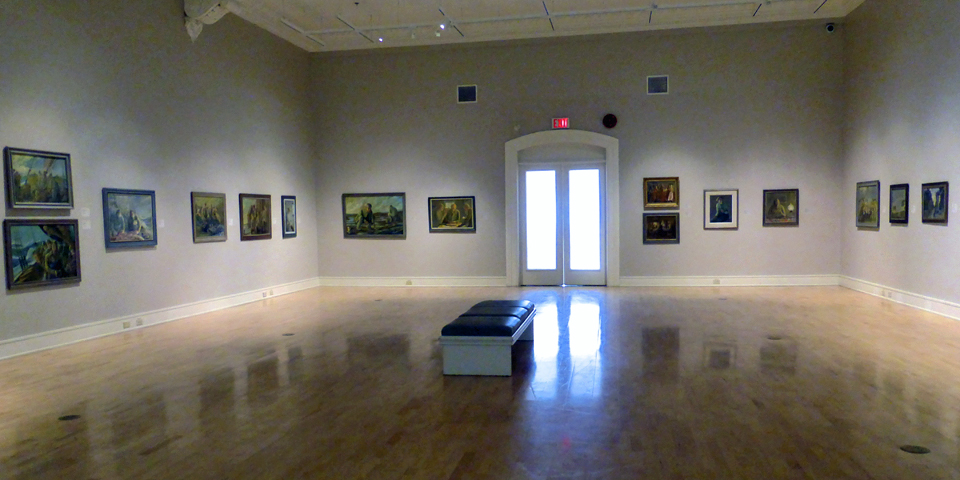 Surette Gallery of the Western Branch of the Art Gallery of Nova Scotia, Yarmouth, Nova Scotia