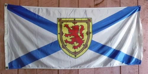 flag of Nova Scotia, Shelburne County Museum, Shelburne, Nova Scotia