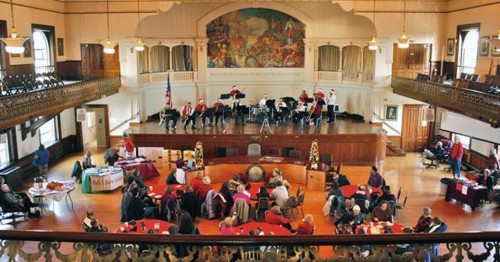 Big Band Concert, City Hall, Gloucester, Massachusetts