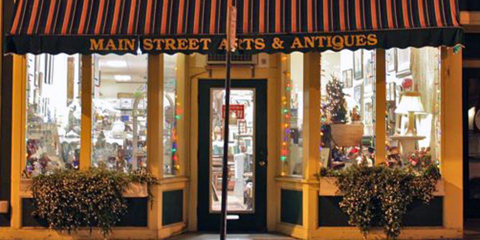 Main Street Antiques, Gloucester, Massachusetts