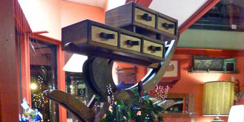 Ring Leg furniture. Menage Gallery, Gloucester, Massachusetts