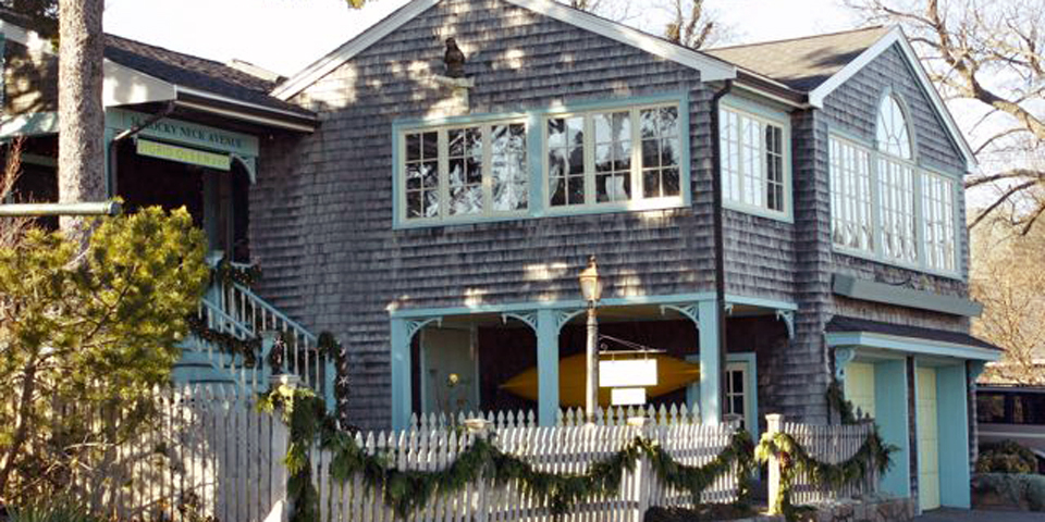 Sigrid Olson house, Rocky Neck