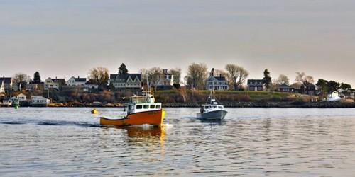 fishing boats, Gloucester, Massachusetts