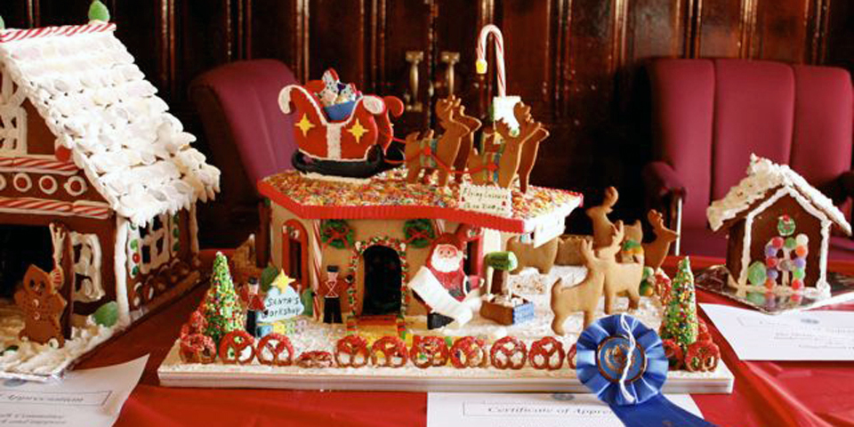 gingerbread competition winner, City Hall, Gloucester, Massachusetts