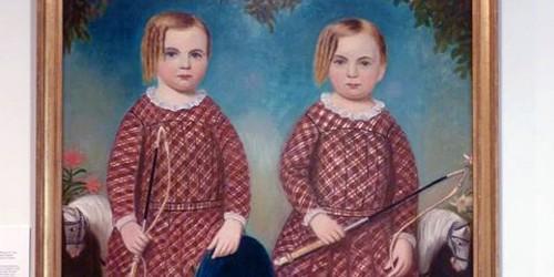 The Wonson Twins, Cape Ann Museum, Gloucester, Massachusetts