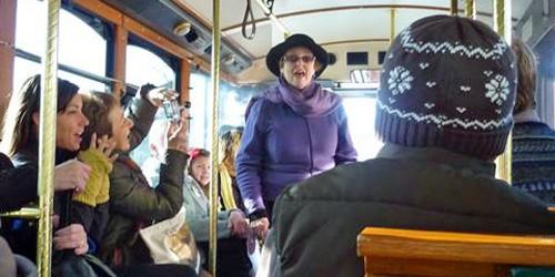 trolley tour, Gloucester, Massachusetts