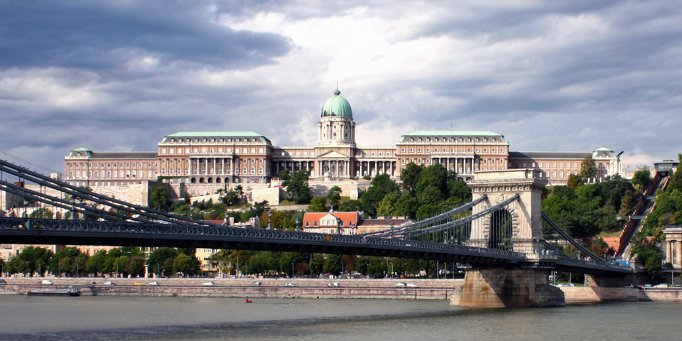 Palace, Castle Hill and Chain Bridge, Budapest