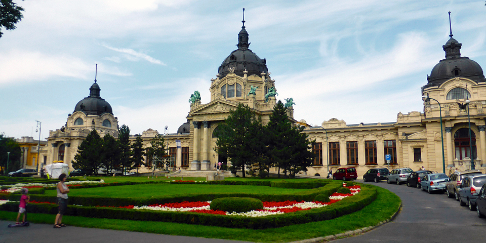 Széchenyi Spa Baths, Budapest