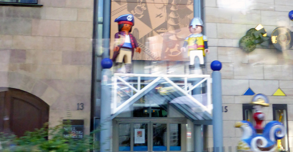 entrance to Toy Museum, Nuremberg
